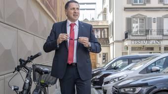 Der neu gewählte Schwyzer Regierungsrat   Sandro Patierno.