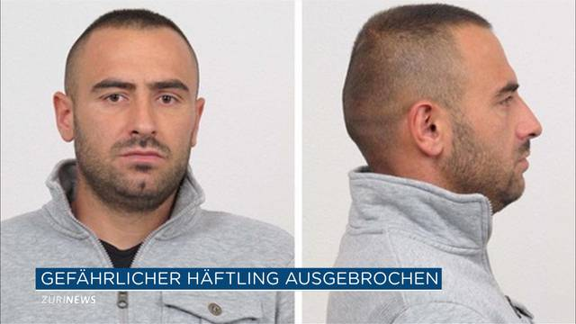 Mörder aus Fribourger Gefängnis geflohen