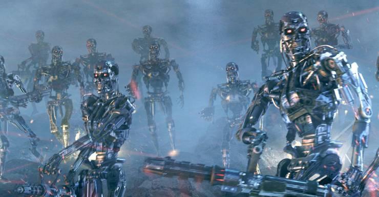 Seit Jahrzehnten machen Szenen mit bösen Robotern wie diese aus «Terminator 3» Kinozuschauern Angst.