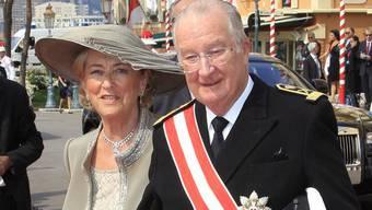 König Albert II. mit Königin Paola (Archiv)