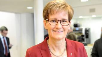 FDP-Regierungsrätin Pegoraro.