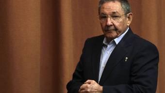 Unzimperlicher Umgang mit den Gegnern: Kubas Präsident Raul Castro (Archiv)