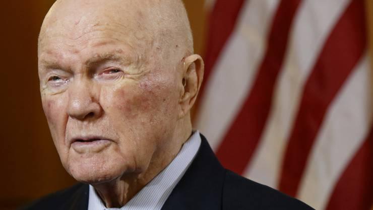John Glenn verstarb im Alter von 95 Jahren. (Archivbild)