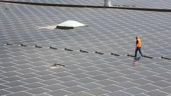 Photovoltaikanlage in Neuendorf.