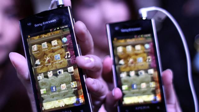 Mobiltelefone aus der Handy-Sparte von Sony (Archiv)