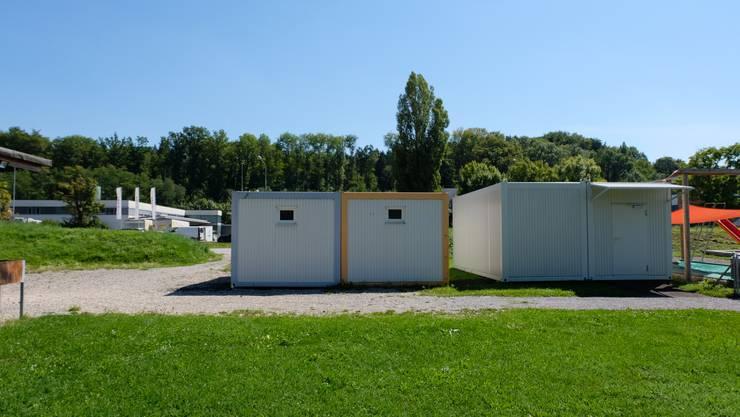 Bis zum neuen Schuljahr im Sommer entsteht dort, wo bis im März dieses Jahres die Provisoriumsbaute für den Kindergarten Föhrewäldli stand, der vierte Standort der Stiftung Sprachheilschulen im Kanton Zürich.