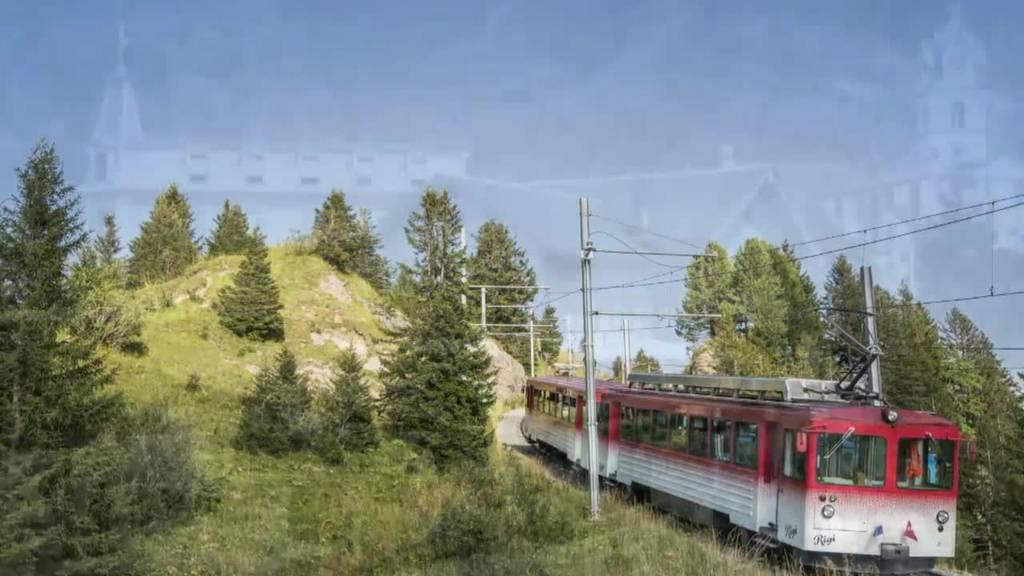 Älteste Bergbahn Europas / Mineralbad Rigi Kaltbad / Einbruchsschutz für Plagegeister