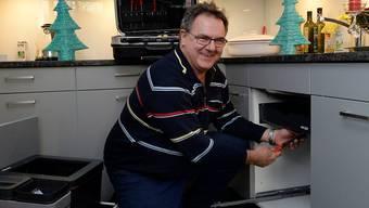 Wenn das Lavabo leckt, kommt Thomas Vizi auch an den Weihnachtsfeiertagen vorbei.