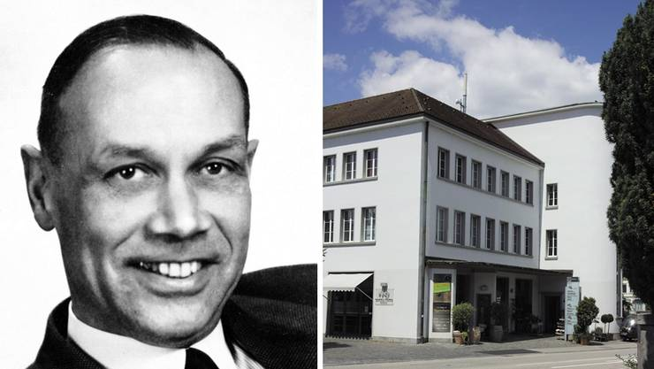 Das damalige Postgebäude an der Unteren Grabenstrasse, wo in den Obergeschossen das Bezirksgericht domiziliert war.