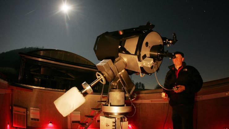 Die Sternwarte Schafmatt: Ist das Wetter schön, erhaschen wir einen Blick in die Sterne.