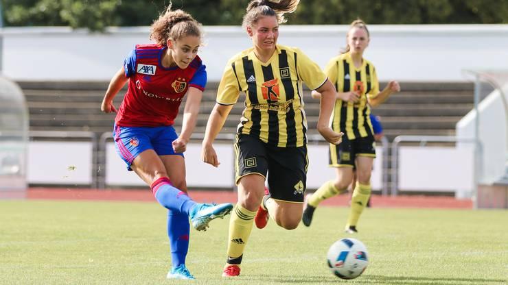 Die Professionalität und die Spielphilosophie des FCB gefallen der jungen Spielerin.