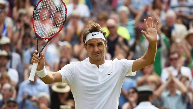 Geschafft! Roger Federer trifft im Final auf Novak Djokovic