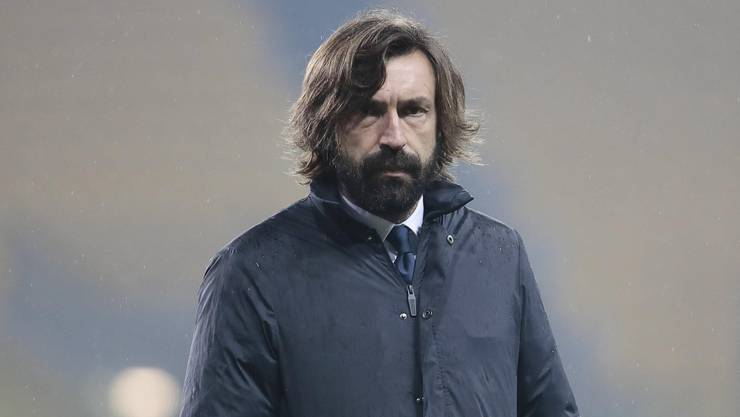 Kann seine Emotionen gut verbergen: Andrea Pirlo, Trainer von Juventus Turin.
