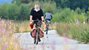 Über 80000 Kilometer legte Markus Capirone auf seinem geliebten «Steve Potts Wilderness»-Bike zurück.Bruno Kissling