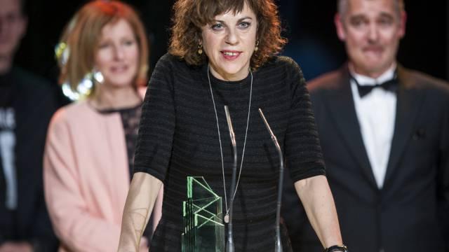 Sabine Boss erhält den Schweizer Filmpreis 2014 (Archivbild)