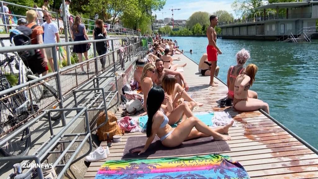 Sommerlicher Sonntag zieht die Massen ins Freie