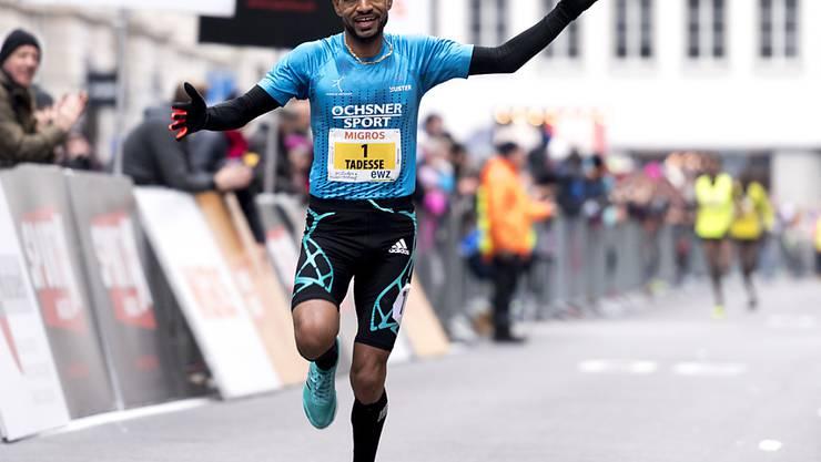 Tadesse Abraham lässte den Konkurrenten keine Chance