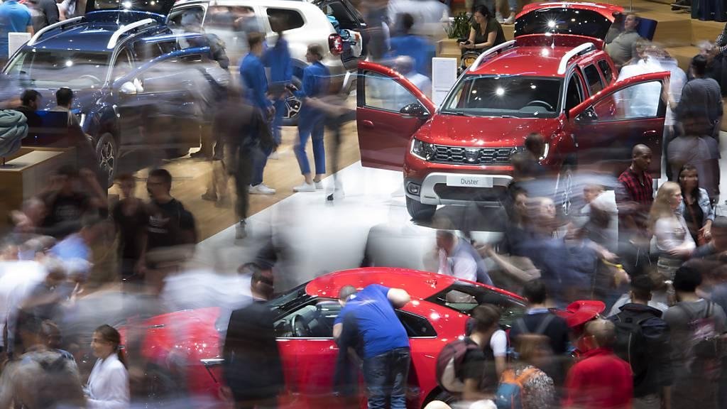 Da war noch alles in Ordnung, die Covid-Pandemie in weiter Ferne: Der Autosalon in Genf, der im März 2019 stattgefunden hat, war der letzte Autosalon seit beginn der Pandemie. (Archivbild)