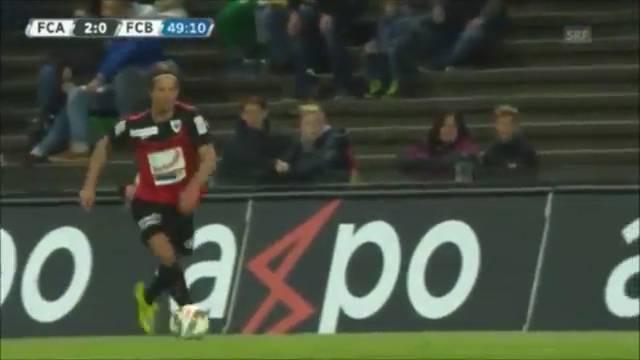 Das Traumgoal von Dusan Djuric in der 49. Minute war am Mittwochabend der zweite Treffer zugunsten der Aarauer.