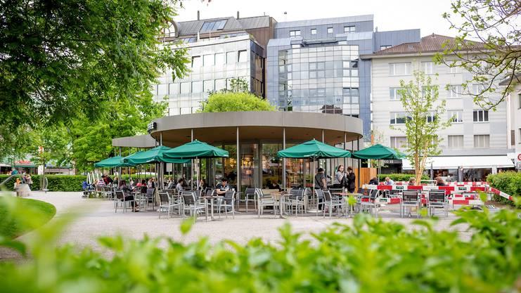 Das Starbucks in der Igelweid Aarau.