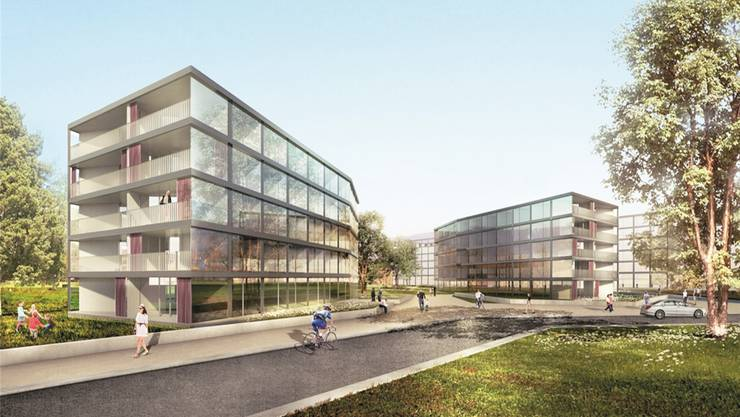Neben Wohnraum sind auch Gewerbeflächen von 6000 Quadratmetern geplant.