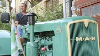Eine grosse Leidenschaft des Wenslinger Gemeindepräsidenten Andy Gass ist das Restaurieren alter Landmaschinen.