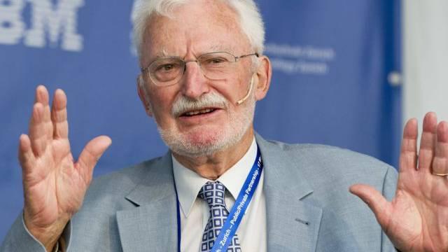Nobelpreisträger Heinrich Rohrer (Archiv)