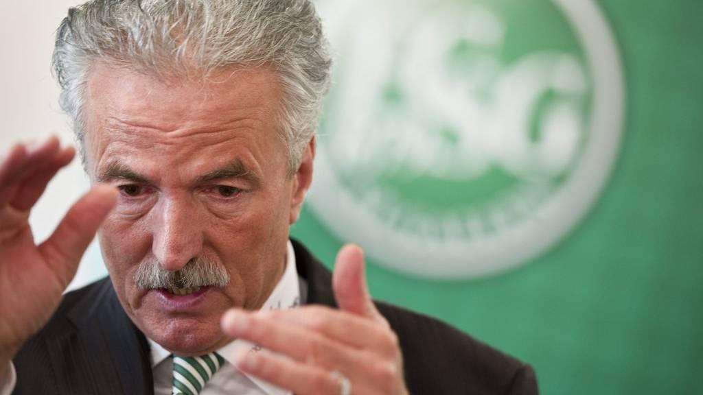 Dölf Früh möchte die Hintergründe der Entlassung von Martin Stocklasa nicht kundtun. (Archiv)