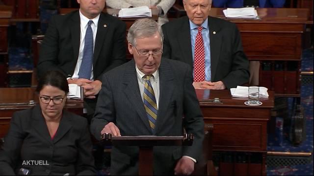 Kavanaugh von Senat  bestätigt