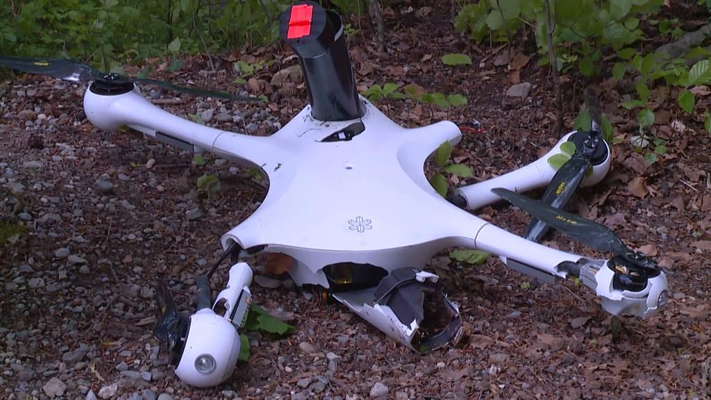 Neue Erkenntnisse zum Drohnenabsturtz im Irchelpark