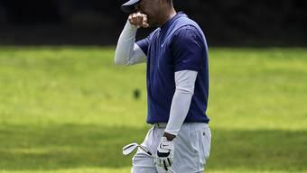 Tiger Woods war mit seinem Spiel in San Francisco nicht immer zufrieden