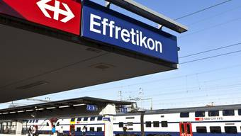 Neun Monate lang wurde am Bahnhof Effretikon gebaut.