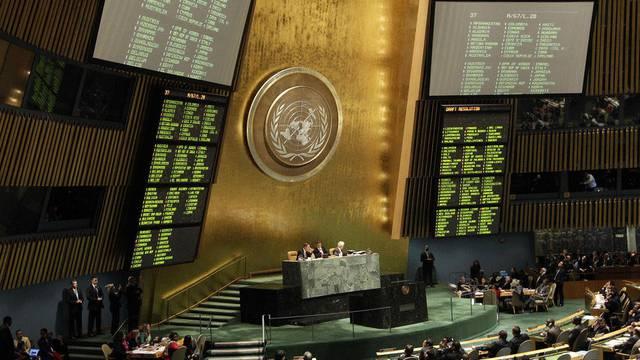 Blick auf die UNO-Vollversammlung (Archiv)