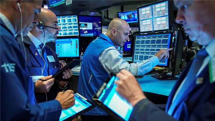 Auf der Suche nach einer Rendite: Händler an der New Yorker Börse.
