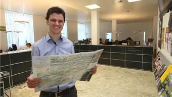 Geschäftsführer Christian Gressbach verlässt Olten Tourismus per 31. August.