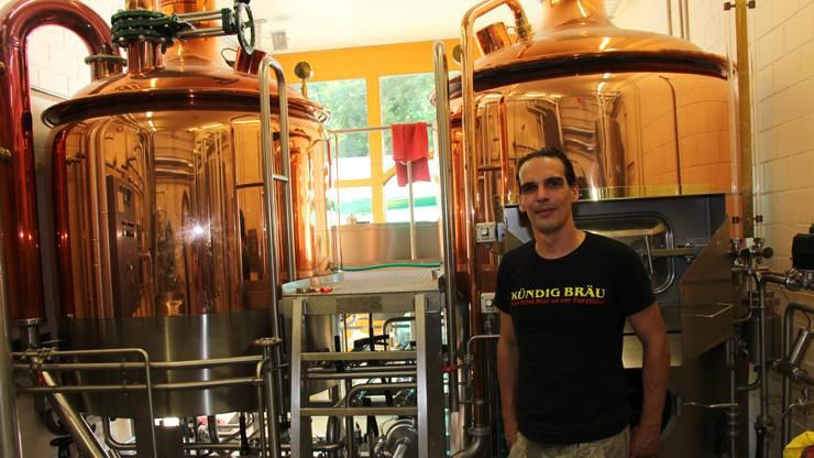 Bierfest Rietheim Roger Kündig im Sudhaus