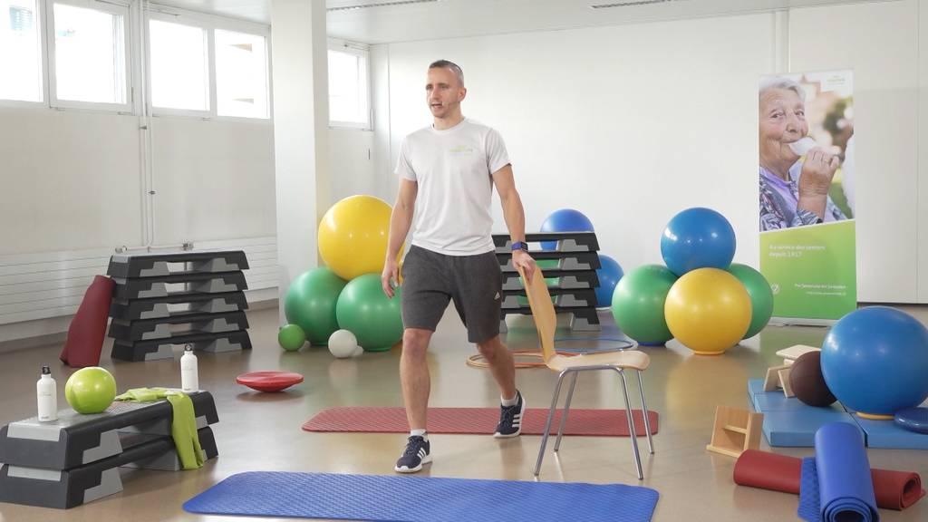 «Gymnastik im Wohnzimmer» vom 7. Mai 2021
