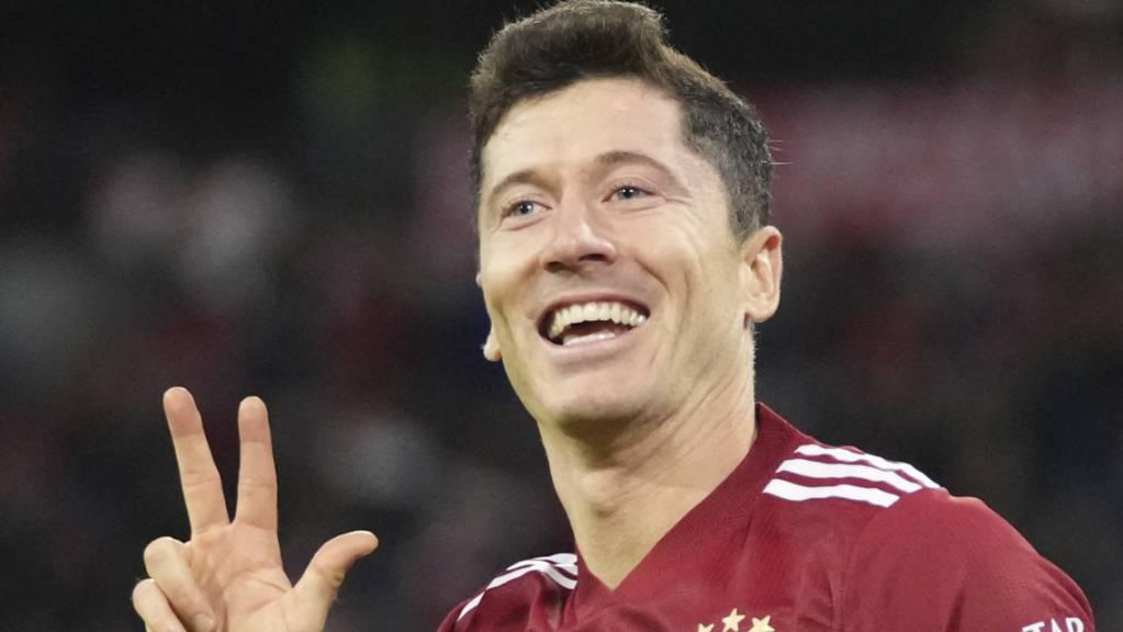 Robert Lewandowski schafft, was vor ihm nur Gerd Müller gelungen war: über 300 Tore für Bayern München