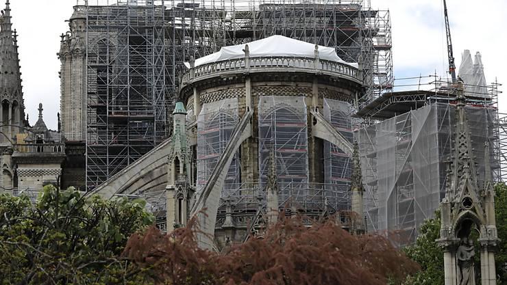 Sanieren ja, aber nicht zu schnell: Experten zweifeln an den (zu) ambitionierten Plänen Macrons zur Sanierung von Notre-Dame. (Archivbild)
