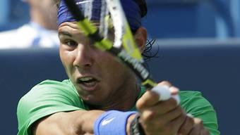 Rafael Nadal stand gegen Fernando Verdasco am Rand einer Niederlage