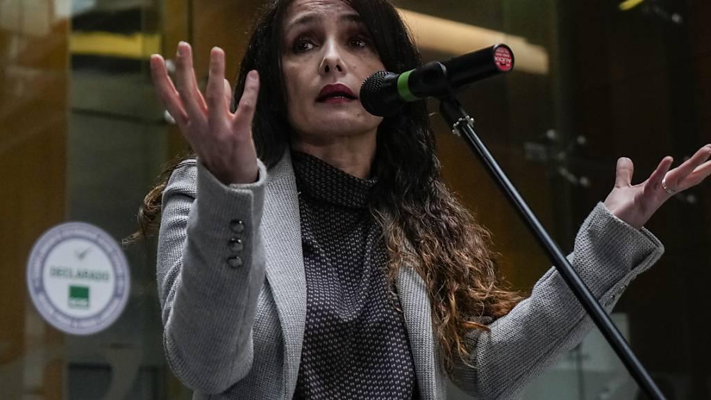 Marta Herrera, Leiterin der Abteilung für Korruptionsbekämpfung bei der chilenischen Generalstaatsanwaltschaft, bestätigte, dass eine strafrechtliche Untersuchung zum Verkauf eines Bergbauprojekts eingeleitet wird, nachdem Präsident Sebastián Piñera in den «Pandora Papers» genannt worden war. Foto: Esteban Felix/AP/dpa