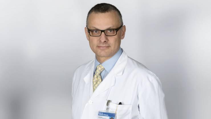 Ist nicht länger Leiter der Herzchirurgie: Francesco Maisano. (Archivbild)