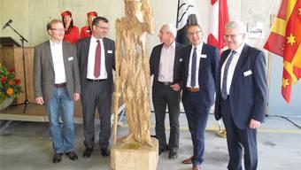 Einweihung des neuen Verwaltungsgebäudes in Rheinfelden