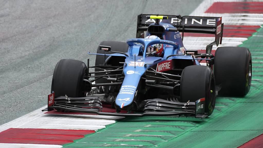 Esteban Ocon feiert im Alpine-Renault seinen ersten GP-Sieg.