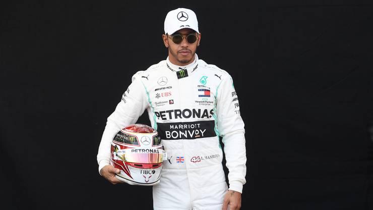 Der grosse Favorit der neuen Saison: Lewis Hamilton.