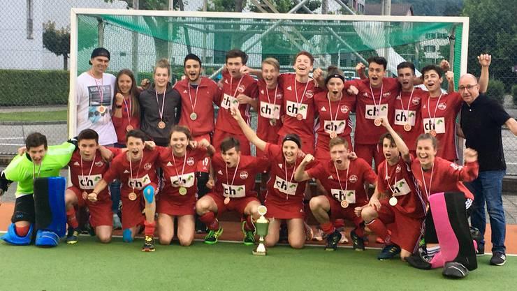 Die Wettinger U18 Schweizermeister