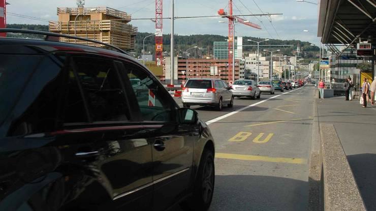 Hardbrücke: Auch in diesem Jahr eine der grössten Baustellen der Stadt (mts)