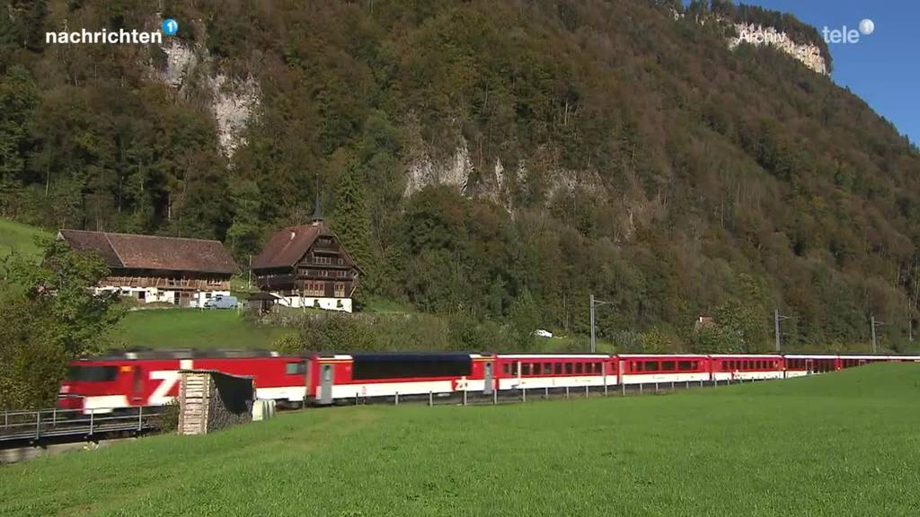 Zentralbahn fährt wieder