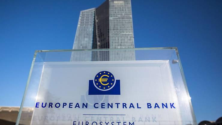Die EZB mahnt einen rascheren Abbau notleidender Kredite in Griechenland an. (Archivbild)