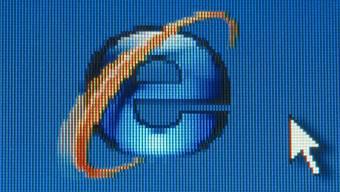 Startsymbol für den Internetexplorer von Microsoft.